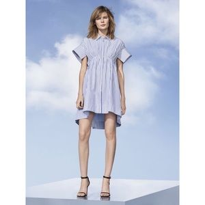 NWT Victoria Beckham x Target Stripe Poplin Dress